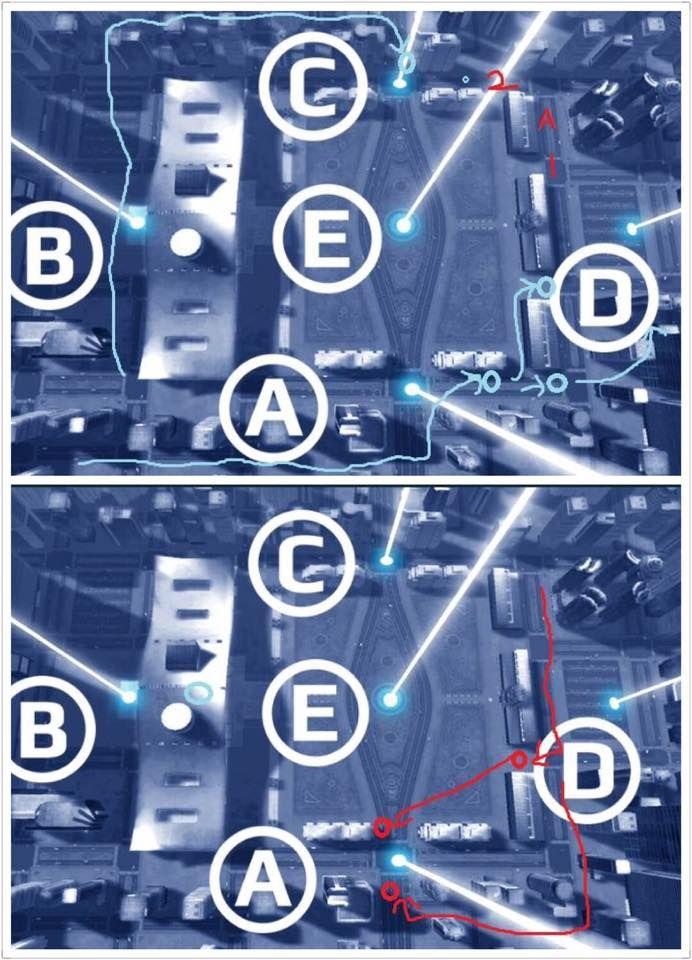 战争机器人深圳地图攻略 红蓝双方进攻最佳路线[图]