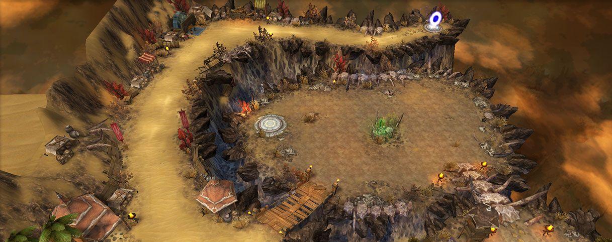黑暗与魔兽游戏官网正式版图1:
