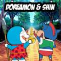 哆啦A梦新酱大冒险无限金币中文破解版(Dora Shin) v1.0