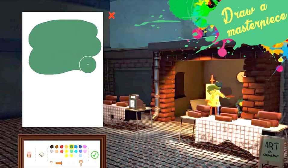 街头画家的生活安卓游戏官网手机版下载(Passpartout)图3: