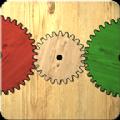 齿轮机械拼图游戏