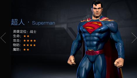 正义联盟超级英雄超人技能介绍 超人连招推荐[多图]