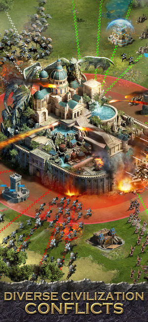 列王的���新浪微博版(clash of kings)�D5: