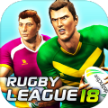 橄榄球联赛18无限金币中文破解版(Rugby League 18) v1.0
