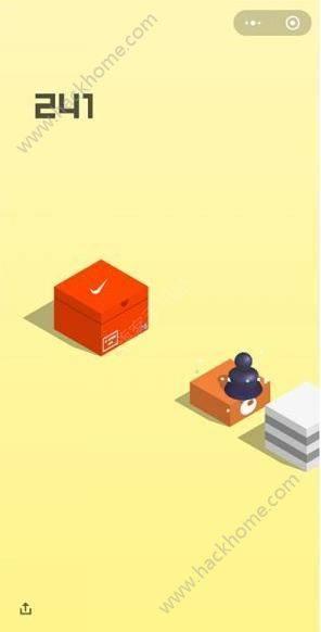跳一跳箱子角落的广告怎么去掉?微信跳一跳箱子上的广告介绍图片2