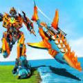 改造机器人鲨鱼游戏