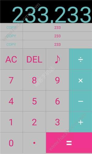 初音未来主题计算器app图1
