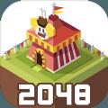 2048大亨主题公园游戏官方最新版(2048 Tycoon) v1.3.0