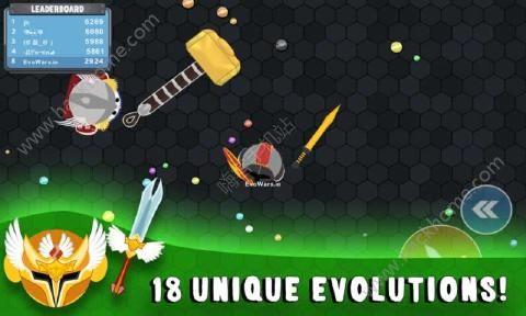 进化战争大作战官网中文版下载(EVOWARS.io)图2: