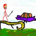 该死的梦关卡解锁完整破解版(Retropaint Stickman Hero) v0.0.4