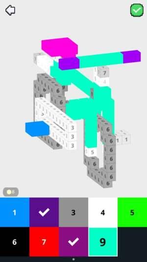 像素涂色3D app图1