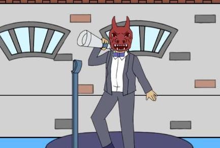 我进不去学校了2第28关攻略 恶魔头套图文通关教程[多图]