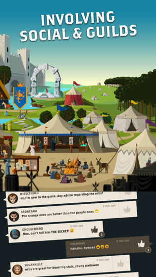 探索大陆无限金币内购破解版(Questland)图1: