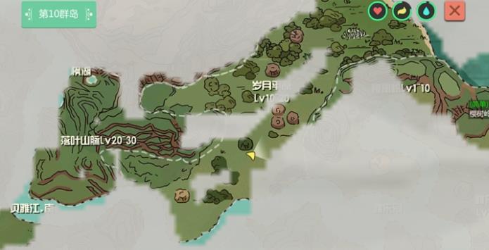 创造与魔法岁月平原遗迹攻略 岁月平原资源分布讲解[多图]