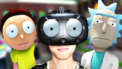 瑞克和莫蒂VR游戏安卓手机中文版(Rick and Morty)图2: