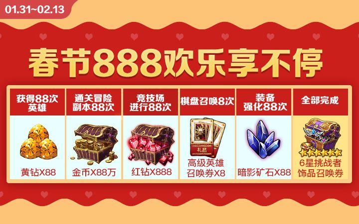 十二战纪春节活动大全2019 猪年888福利红包奖励一览[多图]