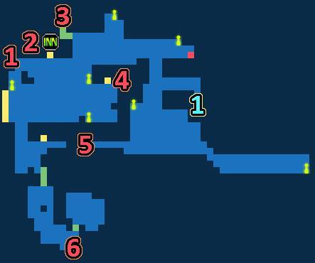 最终幻想勇气启示录利迪拉港口镇宝箱大全 利迪拉港口镇宝箱位置[多图]
