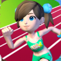 全民运动之100米赛跑游戏安卓版 v1.0