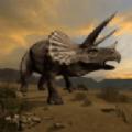 侏罗纪三角龙生存模拟游戏