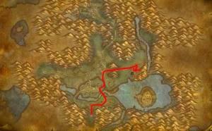 魔兽世界怀旧服目标盖罗恩农场任务攻略 盖罗恩农场位置详解图片3