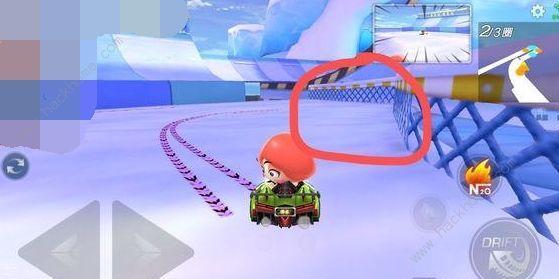 跑跑卡丁车手游冰山急速赛道宝箱在哪 在冰山急速赛道找到隐藏宝藏详解[视频][多图]图片1