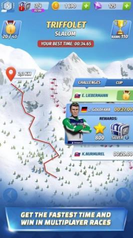 滑雪传奇游戏中文版下载(Ski Legends)图2: