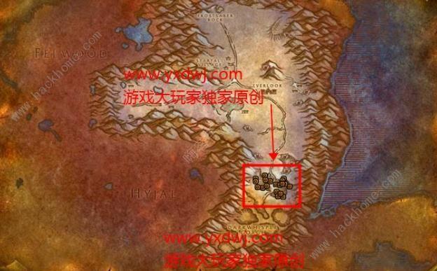 魔兽世界怀旧服祝你好运的任务攻略 霜槌碎片在哪[视频][多图]图片3