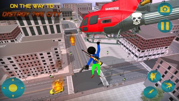 火柴人城市特工游戏安卓最新版图1: