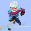 曲棍球进球砸冰球游戏中文版(Hockey Goal Smash ice Ball) v0.1