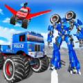 警察卡车机器人游戏