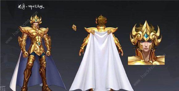王者荣耀圣斗士皮肤黄金狮子座皮肤曝光 圣斗士联动皮肤介绍[多图]图片4