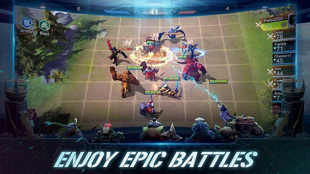 赤潮自走棋游戏官方网站下载(Arena of Evolution)图1: