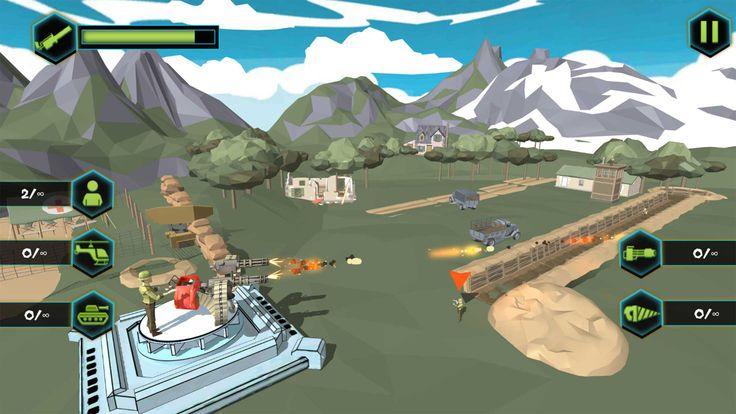 闲置军队大亨战争游戏安卓最新版下载图1: