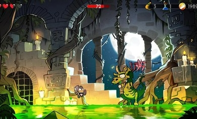 神奇小子龙之陷阱手游官网下载(Wonder Boy:The Dragons trap)图1: