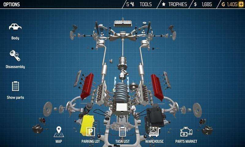 修车模拟器抖音vr游戏中文版图1: