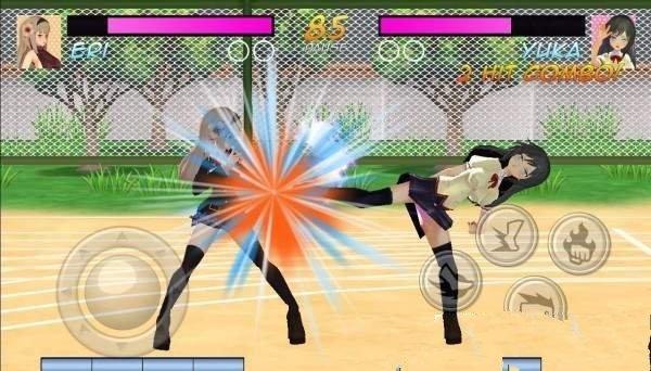 高中女生格斗模拟器游戏中文手机版图2: