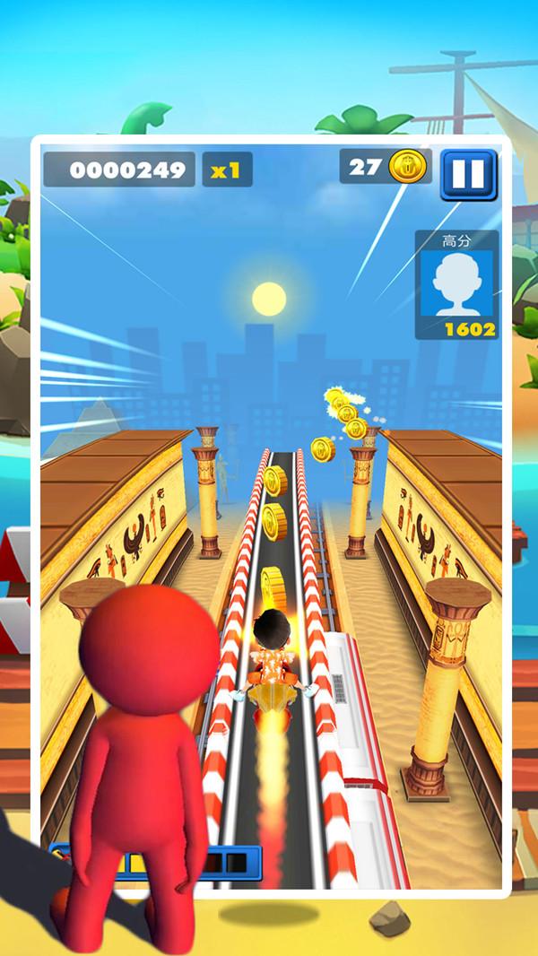 天天酷跑传奇激斗游戏安卓最新版下载图1: