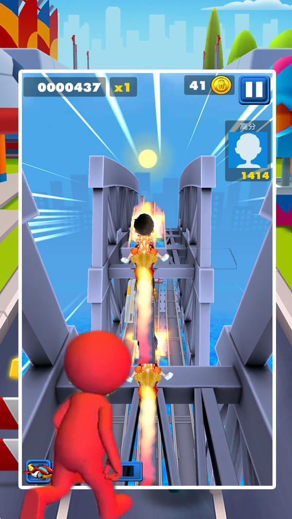天天酷跑传奇激斗游戏安卓最新版下载图片1