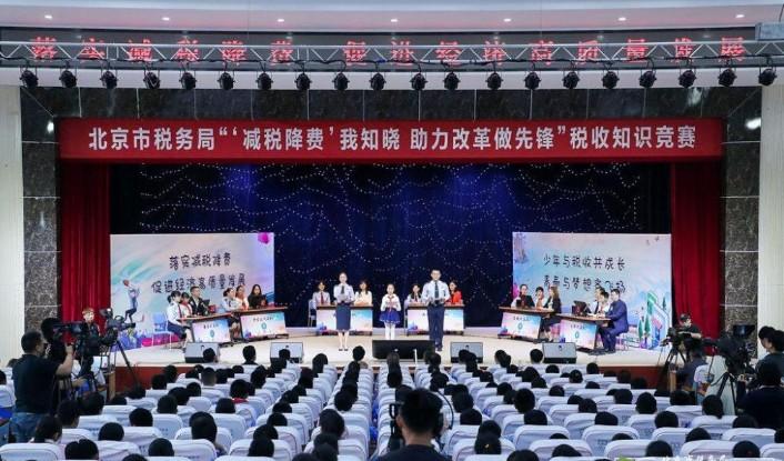 2019年北京税务局减税降费知识竞赛答案完整版分享图1: