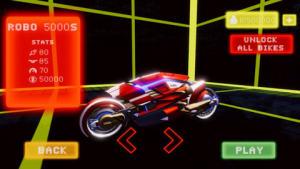 霓虹摩托车特技赛车游戏图2