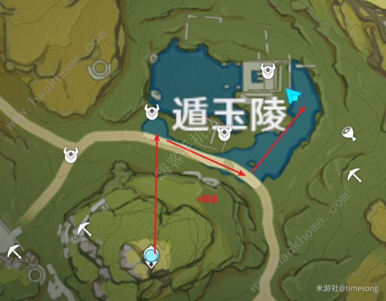 原神莲蓬在哪 莲蓬分布图一览[多图]图片2