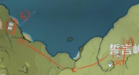 原神蒲公英籽位置在哪 蒲公英籽位置及刷新时间[多图]图片5