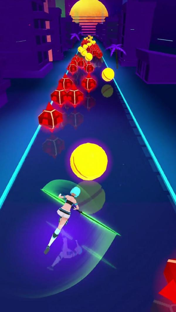 赛博朋克光剑官方安卓版游戏图片1