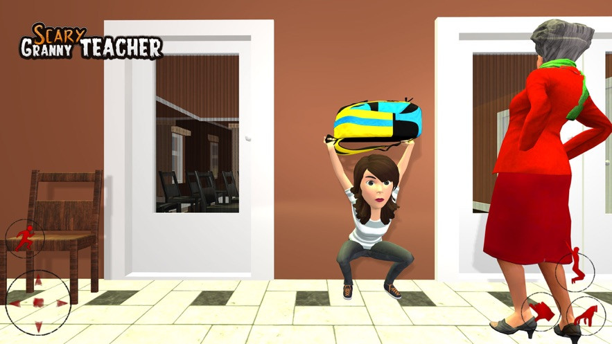 恐怖你好邻居奶奶游戏中文版下载图片1