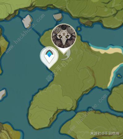 原神丘丘岩盔王位置在哪 丘丘岩盔王多久刷新一次[多图]图片3