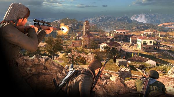 狙击之神4手机版游戏下载(Sniper Elite 4)图片1