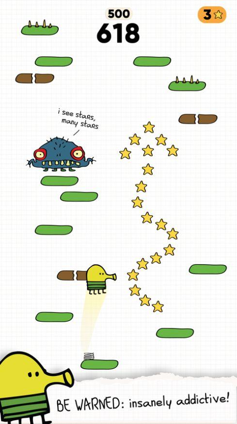 Doodle Jump 2安卓官方中文下載圖片1