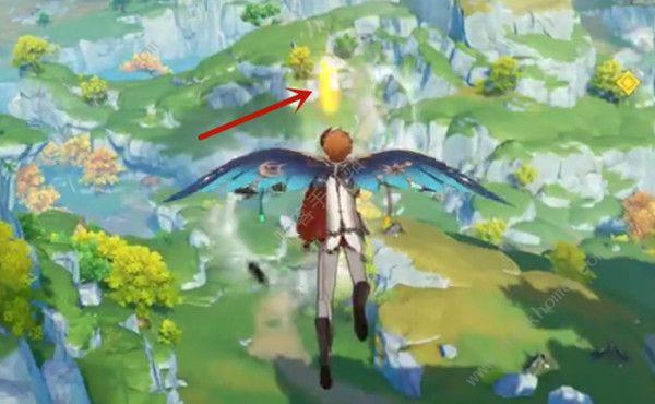 原神飞行挑战第五关怎么过 第五天风中杂碍最佳路线推荐[视频][多图]图片4