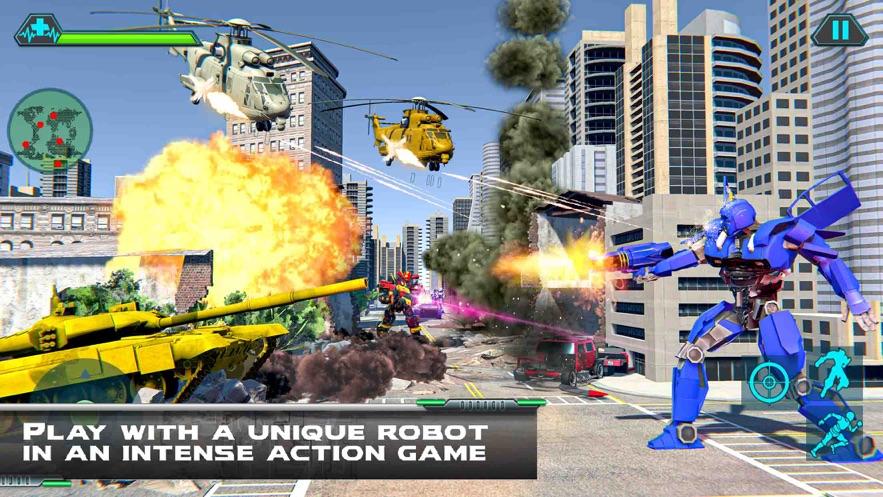 直升机变换坦克战争游戏安卓官网版图2: