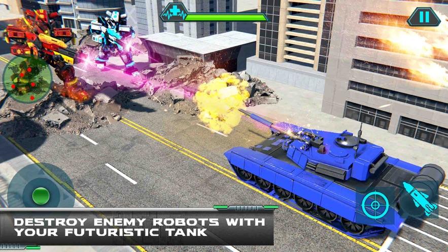 直升机变换坦克战争游戏安卓官网版图1: